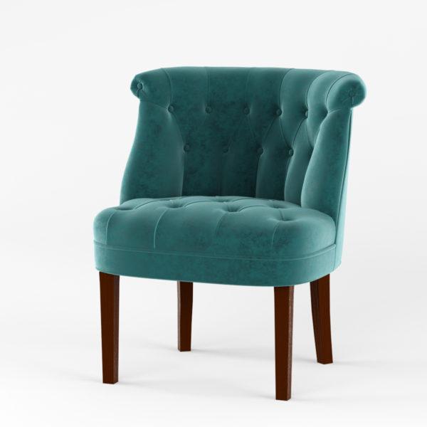 Кресло Джованни орех (тк. Силкшайн 60)