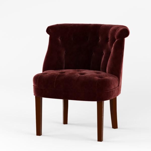 Кресло Джованни орех (тк. Силкшайн 52)